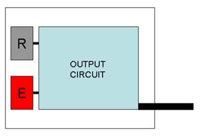 طراحی داخلی سنسور نوری