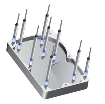 اندازهگیری شکافها و فواصل کاور HDD