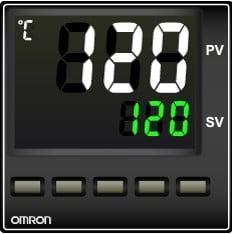 A05 نمایشگر کنترلر دما