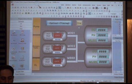تحلیل المانهای پروژه تصفیه خانه HMI