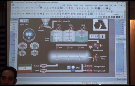 تشریح المان های صفحه در یک پروژه HMI