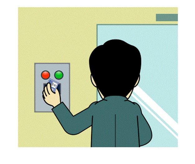 مدیریت ورود و خروج کاربرد RFID