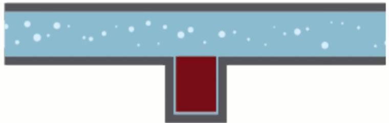مدل آبی ترانزیستور وصل