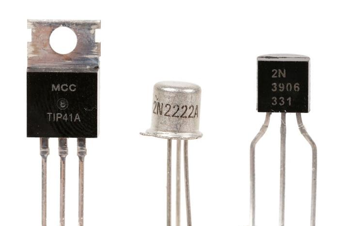مرجع الکترونیک - قطعات الکترونیکی ترانزیستور