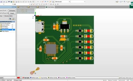 آموزش الکترونیک - محیط سه بعدی آلتیوم