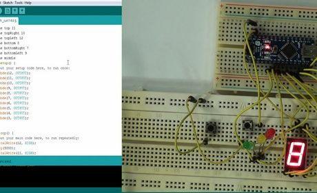 آموزش الکترونیک - پروژه چراغ راهنما