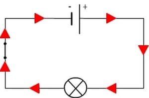 مرجع الکترونیک - جهت جریان در مدار