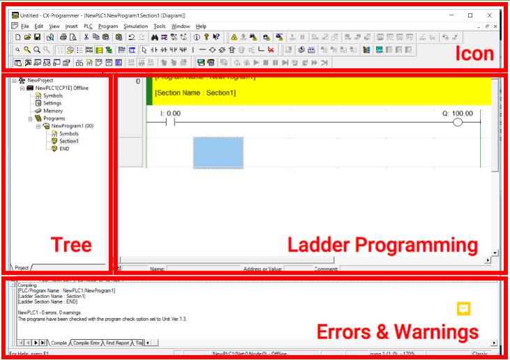نرم افزار Cx-programmer