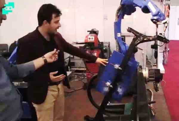 ربات های صنعتی ، ربات جوشکاری
