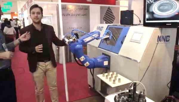 ربات های صنعتی ، ربات ماشینکاری