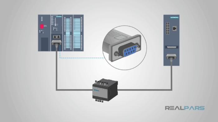 کابل DB9 و پروتکل RS232