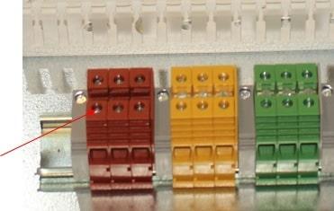 اتصال ترمینال تابلویی برق صنعتی