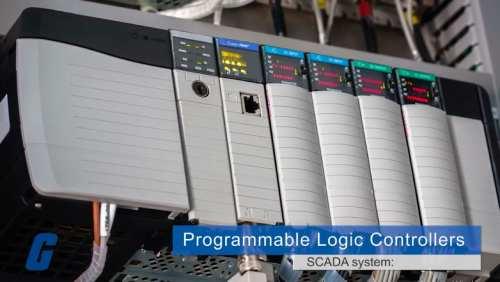 PLC در سیستم SCADA
