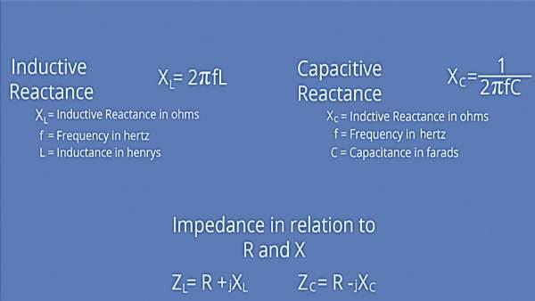 امپدانس چیست - فرمول محاسبه امپدانس