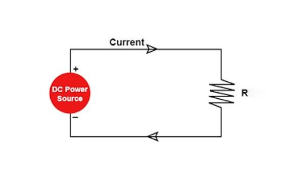 امپدانس چیست -مقدار امپدانس در مدار جریان مستقیم