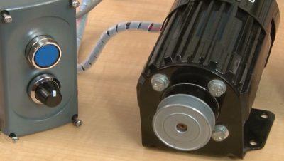 تنظیم سرعت موتور با پتانسیومتر