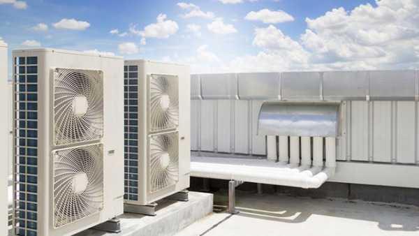 سیستم HVAC تعبیه شده بر پشت بام