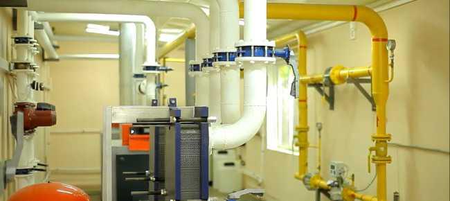 سیستم گرمایشی طراحی شده در موتورخانه
