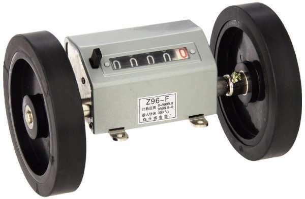 چرخش شفت و افزایش عدد کانتر الکترومکانیکی