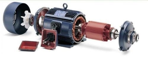اجزای موتور الکتریکی