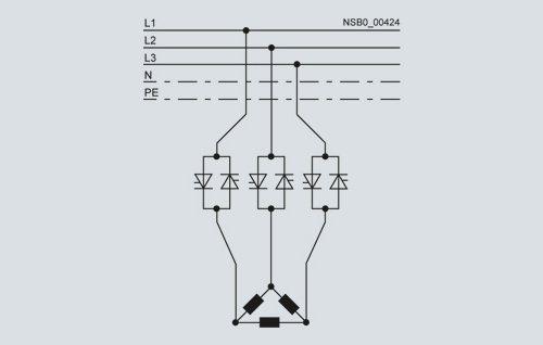 روش های اتصال سافت استارتر به موتور
