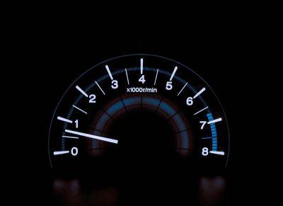 شمارش تعداد دور موتور در دقیقه