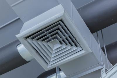 خروج دود از کانال در سیستم HVAC