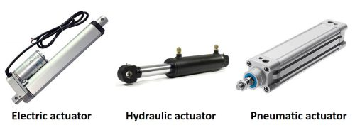 انواع عملگرهای مکانیکی