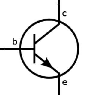 نماد ترانزیستور در مدار