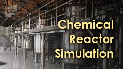 شبیه سازی راکتور شیمیایی