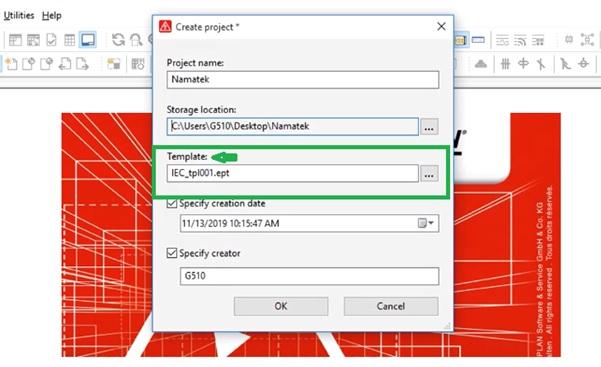 دانلود فایلهای الگوی علائم در نرم افزار eplan