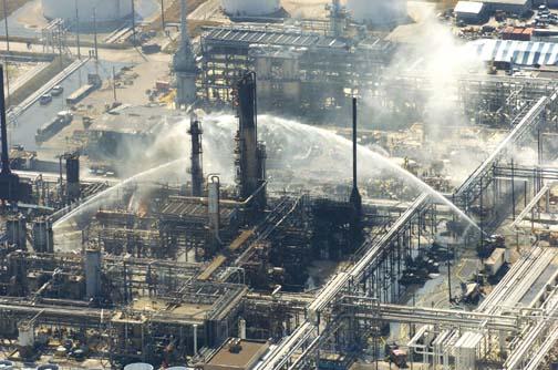 ایمنی در صنایع شیمیایی( فاجعه پالایشگاه تگزاس)