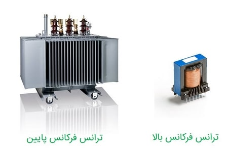 انواع ترانس بر اساس فرکانس