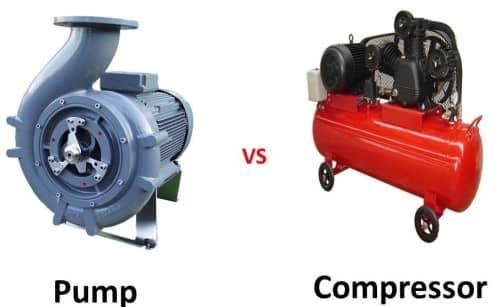 تفاوت پمپ و کمپرسور