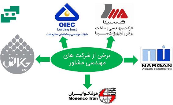شرکت های مهندسی مشاور در ایران