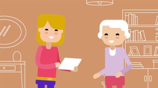کاربرد در مراقبت از سالمندان