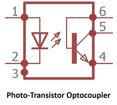 اپتوکوپلر فوتوترانزیستوری
