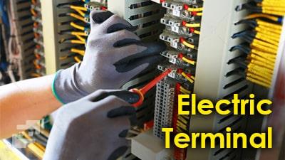 ترمینال های تابلو برق