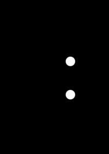 نماد مداری رله