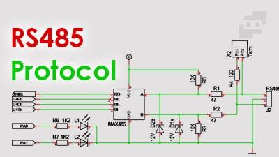 پروتکل rs485