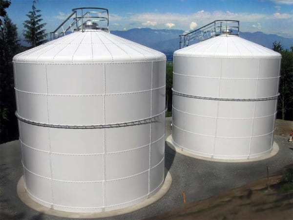 طراحی مخازن سقف ثابت
