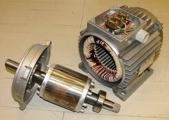 اجزای موتورهای DC