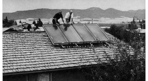 تاریخچه پنل خورشیدی