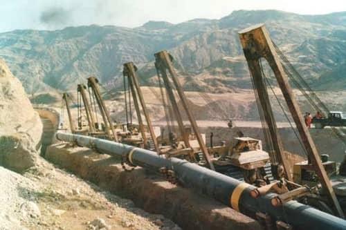 خطوط انتقال گاز سراسری