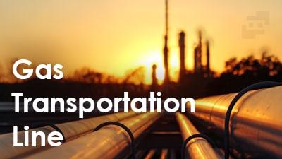 خطوط انتقال گاز