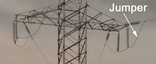 جامپر خطوط انتقال برق