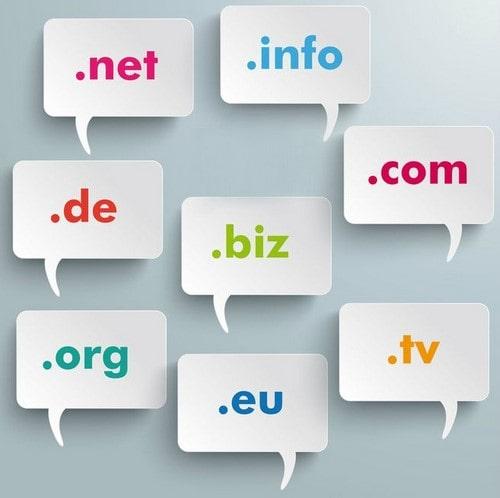 پسوند های عمومی دامنه سایت