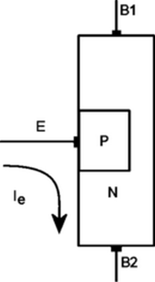 ساختمان ترانزیستور ujt