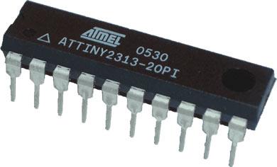 یک مدل میکروکنترلر AVR