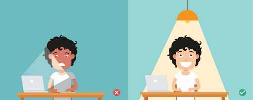 اثرات روشنایی بر عوامل زیان آور محیط کار